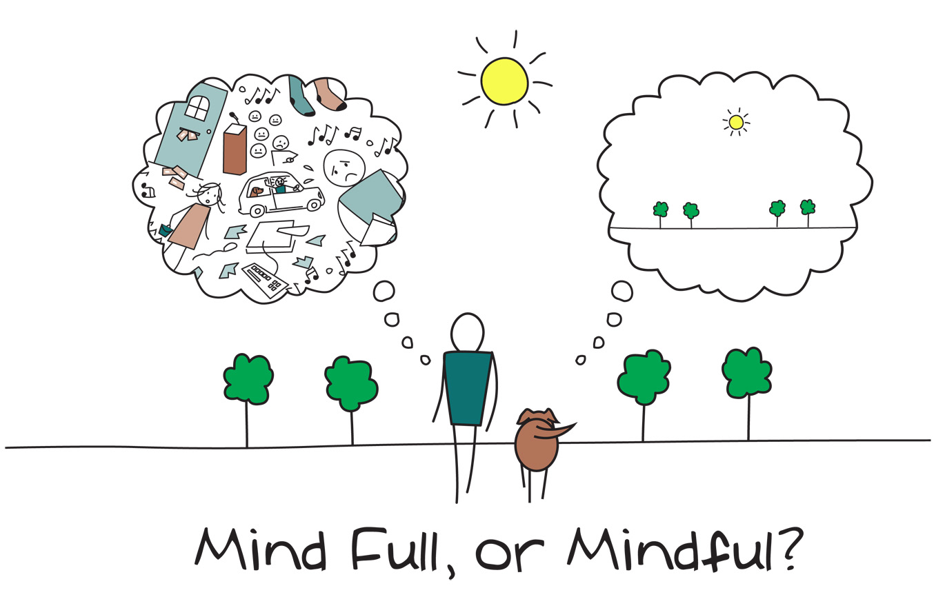 Mindful of mind full